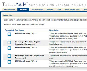 TrainAgile - PMI-ACP Practice Exams and Tests